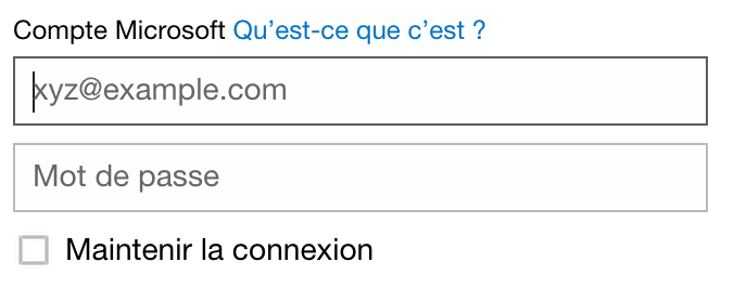 Se connecter la messagerie sign in for Messerie fr